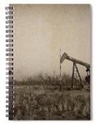 Texas Tea Spiral Notebook