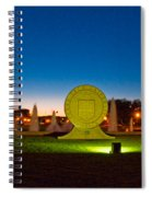 Texas Tech Seal At Night Spiral Notebook