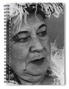 Texas Terror Homage 1935 Tombstone Thrush Helldorado Days Tombstone Arizona 1968-2008 Spiral Notebook