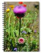 Texas Thistle Spiral Notebook