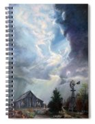 Texas Thunderstorm Spiral Notebook