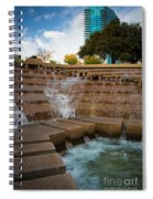 Texas Water Gardens Spiral Notebook