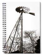 Texas Windmill 2 Spiral Notebook