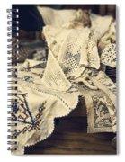 Textile Collection Spiral Notebook
