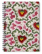 Antique French Textile Design Spiral Notebook