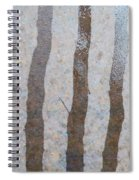 Textural Forest Spiral Notebook