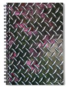 Texture Reflected Spiral Notebook