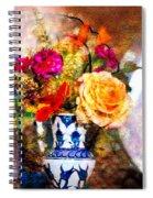 Textured Bouquet Spiral Notebook
