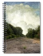 Textured Landscape Spiral Notebook