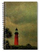 Textured Lighthouse Spiral Notebook