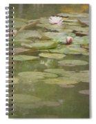 Textured Lilies Image  Spiral Notebook