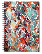 Textured Structural Abstract Spiral Notebook