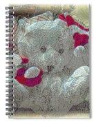 Textured Teddy Spiral Notebook