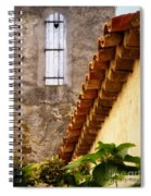 Textures In A Provence Village Spiral Notebook
