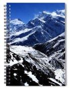 The Annapurna Circuit - The Himalayas Spiral Notebook