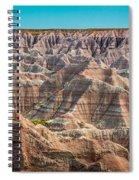 Tha Badlands Spiral Notebook