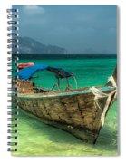 Thai Boat  Spiral Notebook