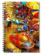 Thai Market Day Spiral Notebook
