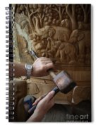 Thai Woodworker Spiral Notebook