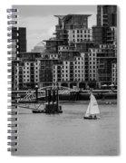 Thames Sailing Spiral Notebook