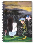 Thank You Again Hand Embroidery Spiral Notebook