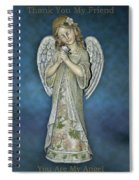 Thank You My Angel Spiral Notebook