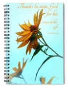 Thankfulness Spiral Notebook