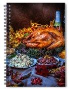 Thanksgiving Dinner Spiral Notebook