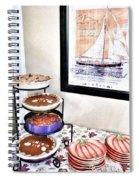 Thanksgiving Pies Spiral Notebook