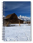 That Famous Barn Spiral Notebook