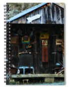 That Old Shack Spiral Notebook
