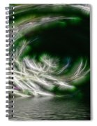 That Stooped Down Unto The Sea Spiral Notebook