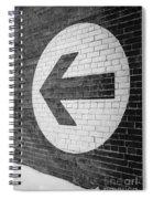 That Way Spiral Notebook