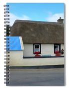 Thatched Spiral Notebook