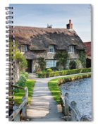 Thatched Cottage Thornton Le Dale Spiral Notebook