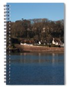 Thatched Cottages In A Town, Dunmore Spiral Notebook