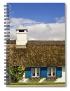 Thatched Country House Spiral Notebook
