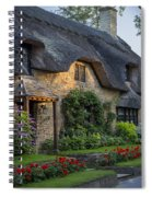 Thatched Roof Spiral Notebook