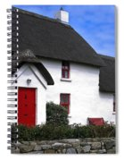 Thatched Roof House Spiral Notebook