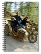 That's The Way To Ride An Army Bmw R75  Spiral Notebook