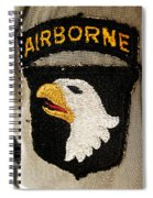 The 101st Airborne Division Emblem Spiral Notebook