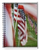 The 10th Anniversary Of 9-11-2001 Forest Park St Louis Mo Img 5708 Spiral Notebook