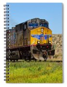 The 5789 Union Pacific Train Spiral Notebook