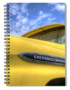 The 59 Yellow Apache Spiral Notebook
