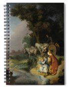 The Abduction Of Europa Spiral Notebook