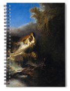 The Abduction Of Proserpina Spiral Notebook