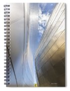 The Abstract Curves Of The Disney Concert Hall Spiral Notebook
