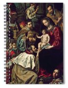 The Adoration Of The Magi, 1620 Oil On Canvas Spiral Notebook