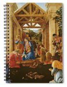 The Adoration Of The Magi Spiral Notebook