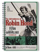 The Adventures Of Robin Hood B Spiral Notebook